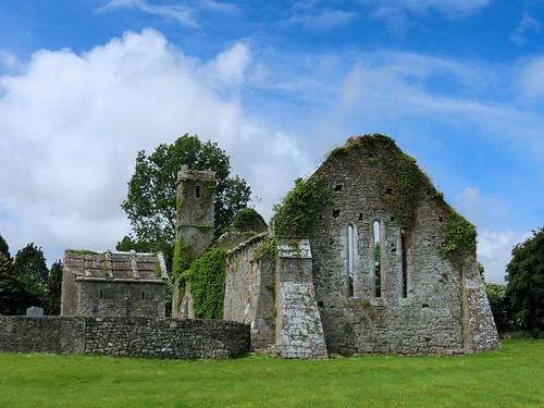 ireland éire eire clare anclár anchláir county church ruin parish park medieval