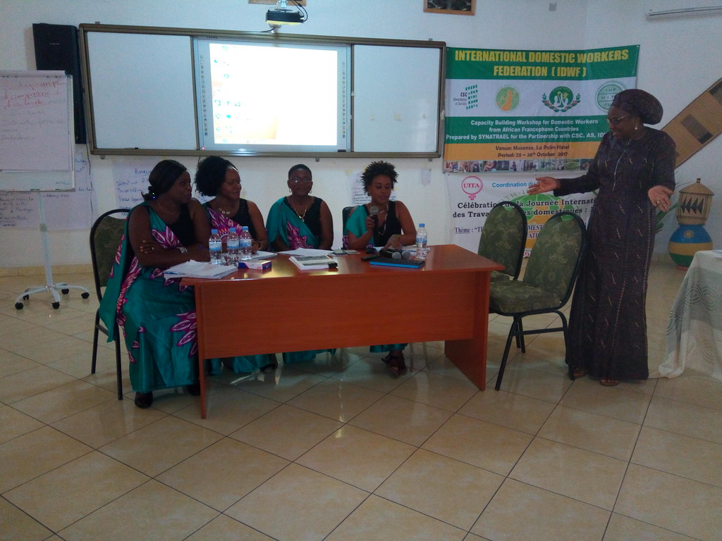 2017-10-23~26 Rwanda: IDWF Africa Training of Trainers Workshop for the French affiliates