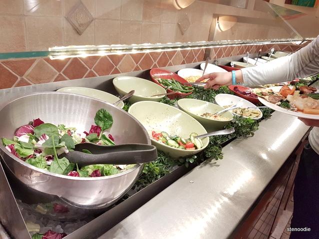 Vinnie Zucchini's Italian Buffet Insalada