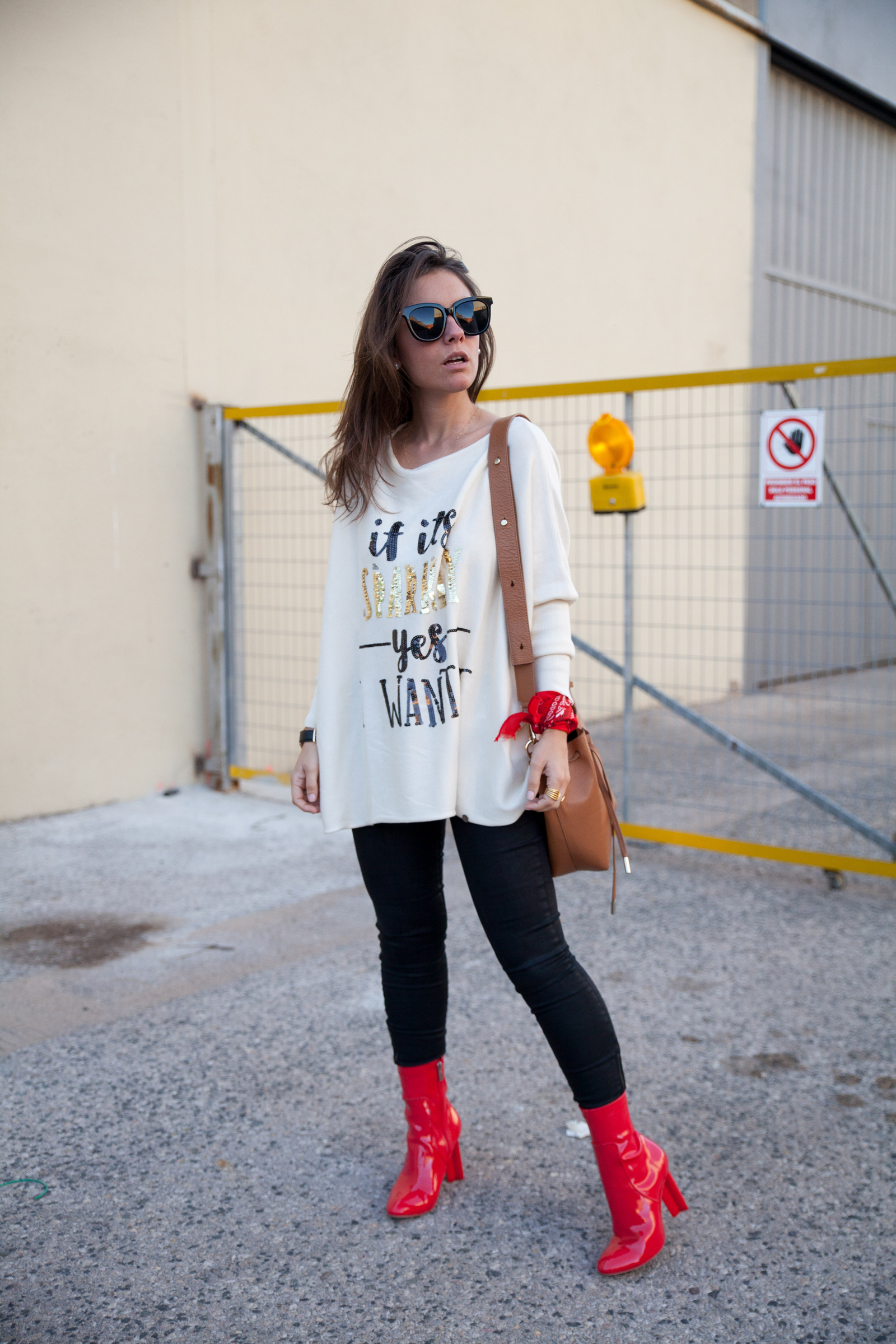 rojo charol the guest girl theguestgirl outfit casual brand ambassador