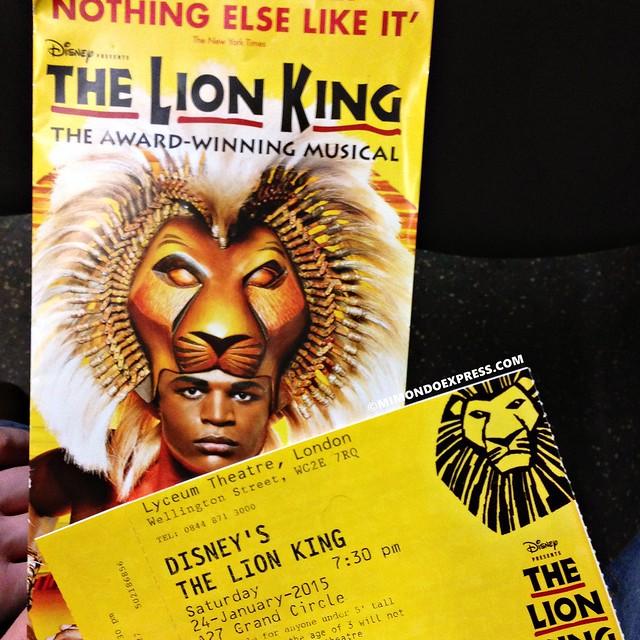 The Lion King, London