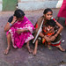 Mom on the street Delhi