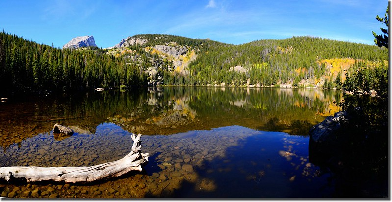 Panorama of Bear Lake, Rocky Mountain National Park, Colorado 1