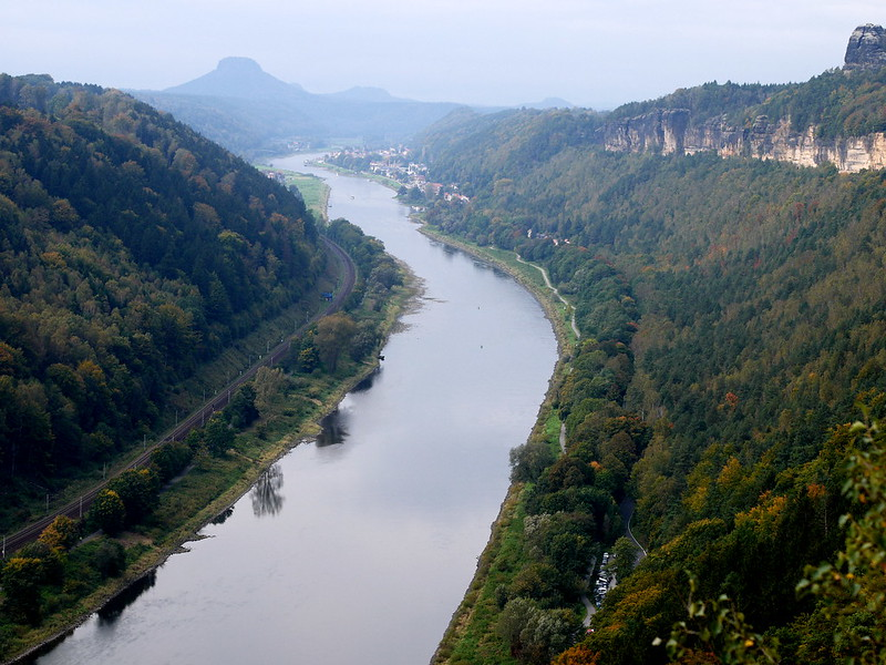 Elbe Kleine Bastei