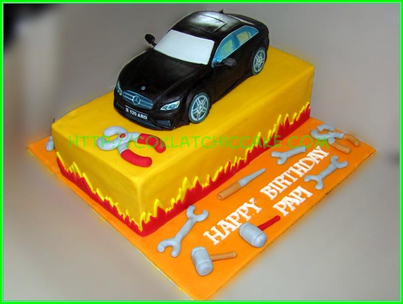 Cake Mercedes E400 PAPI