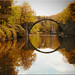 The Rakotz bridge in Kromlau in Saxony by Ostseetroll