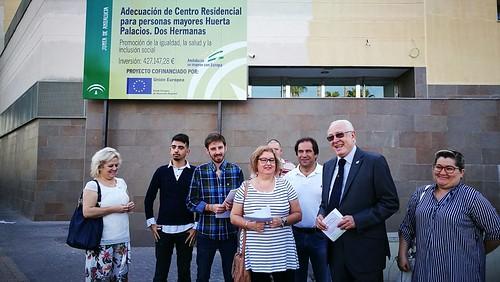 El PP pide que se reforme la residencia de Montequinto por fases y sin traslado