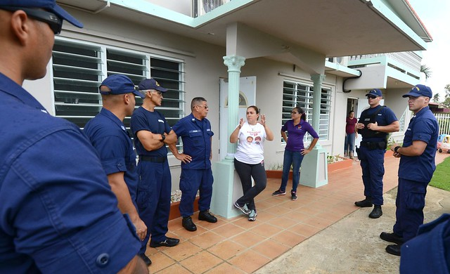 Coast Guardsmen deliver donations to orphanage in Isabela, Puerto Rico