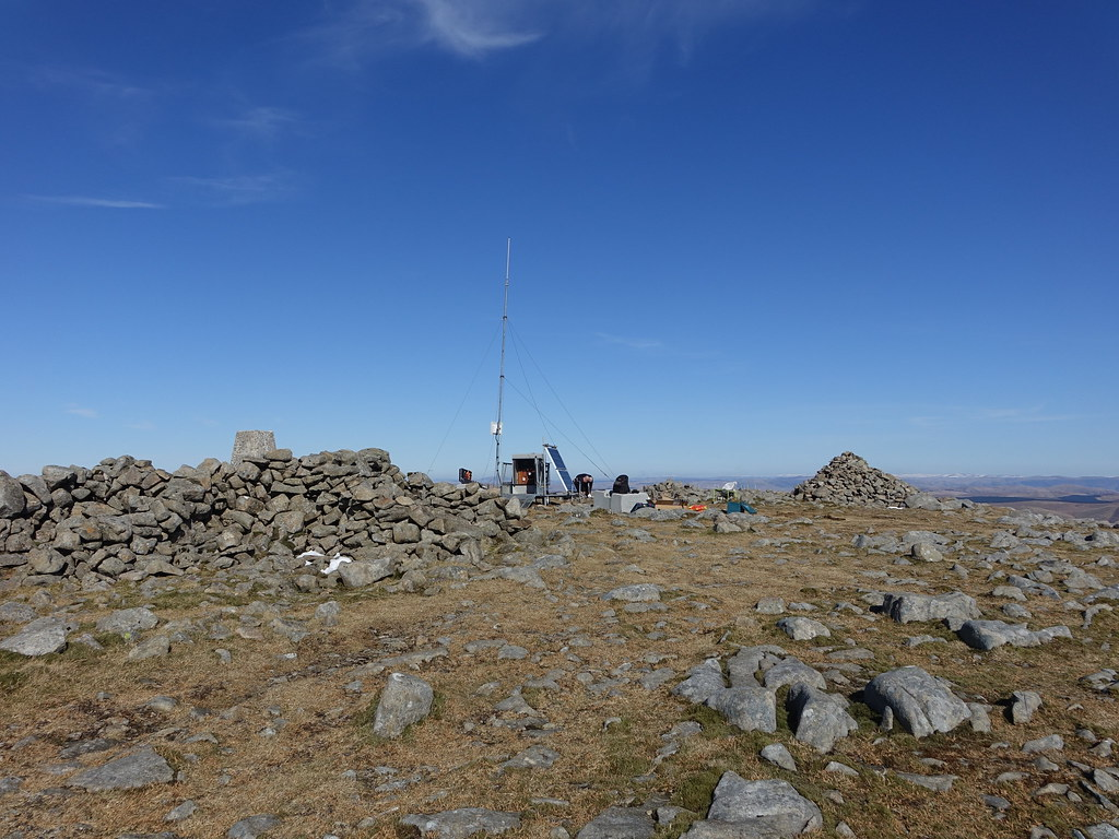 Cairnsmore of Carsphairn summit