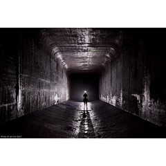'In Deep' - a favourite shot deep under #Baltimore. An incredible location but one that certainly needed commitment and my extremely competent guide to get to. #wallkandy #portrait #urbex #stormdrain #longexposure #fb #f #t #p