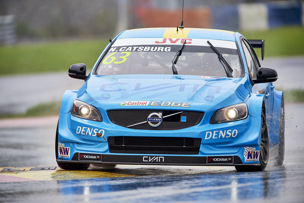 during the 2017 FIA WTCC World Touring Car Championship at Ningbo, China, October 13 to 15 - Photo David Noels / DPPI Nicky Catsburg, Volvo S60, Polestar Cyan Racing