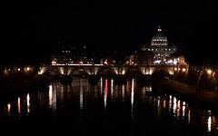 St Peter's Basilica and Ponte Sant'Angelo