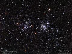 Doble cúmulo de Perseo (NGC 884 / 869)