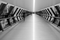 Crossrail Tunnel (Black and White)