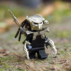 Lego predator Wolf - Лего хищник Волк