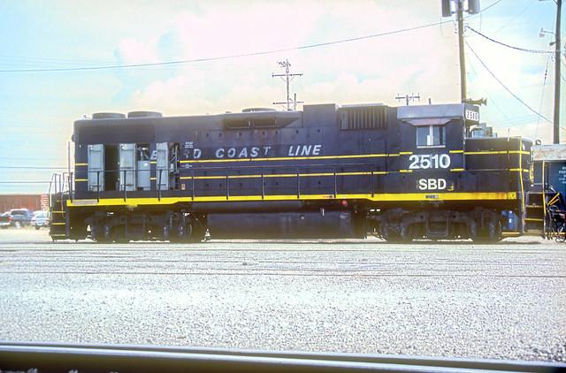 SBD GP38-2 2510