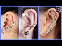new Stylish earcuff earings designs for girls 2017- latest trend