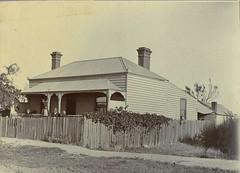 House near railway yard in Rosewater, S.A. - 1908