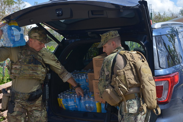 Coast Guard crews continue to deliver Hurricane Maria relief supplies