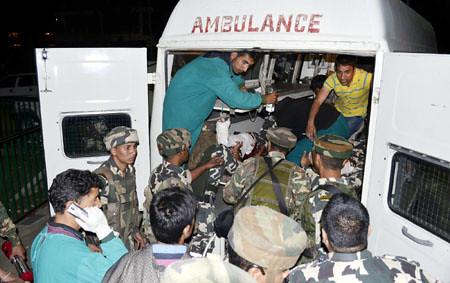 tropper injured