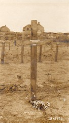 Walter Shuttleworth's grave, Nine Elms Britsh Cemetery, Poperinge