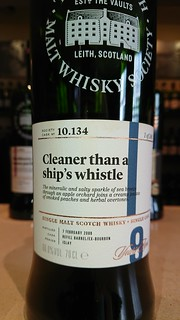 SMWS 10.134 - Cleaner than a ship's whistle