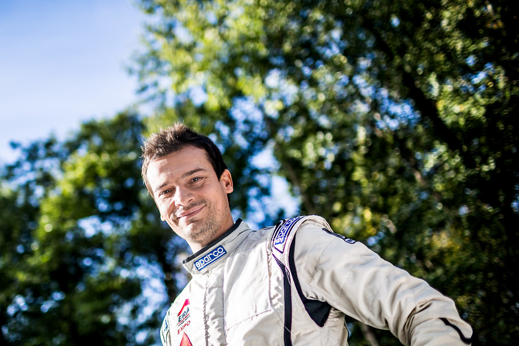 Magalhaes Bruno, Skoda Fabia R5 ambiance portrait during the 2017 European Rally Championship ERC Liepaja rally,  from october 6 to 8, at Liepaja, Lettonie - Photo Thomas Fenetre / DPPI