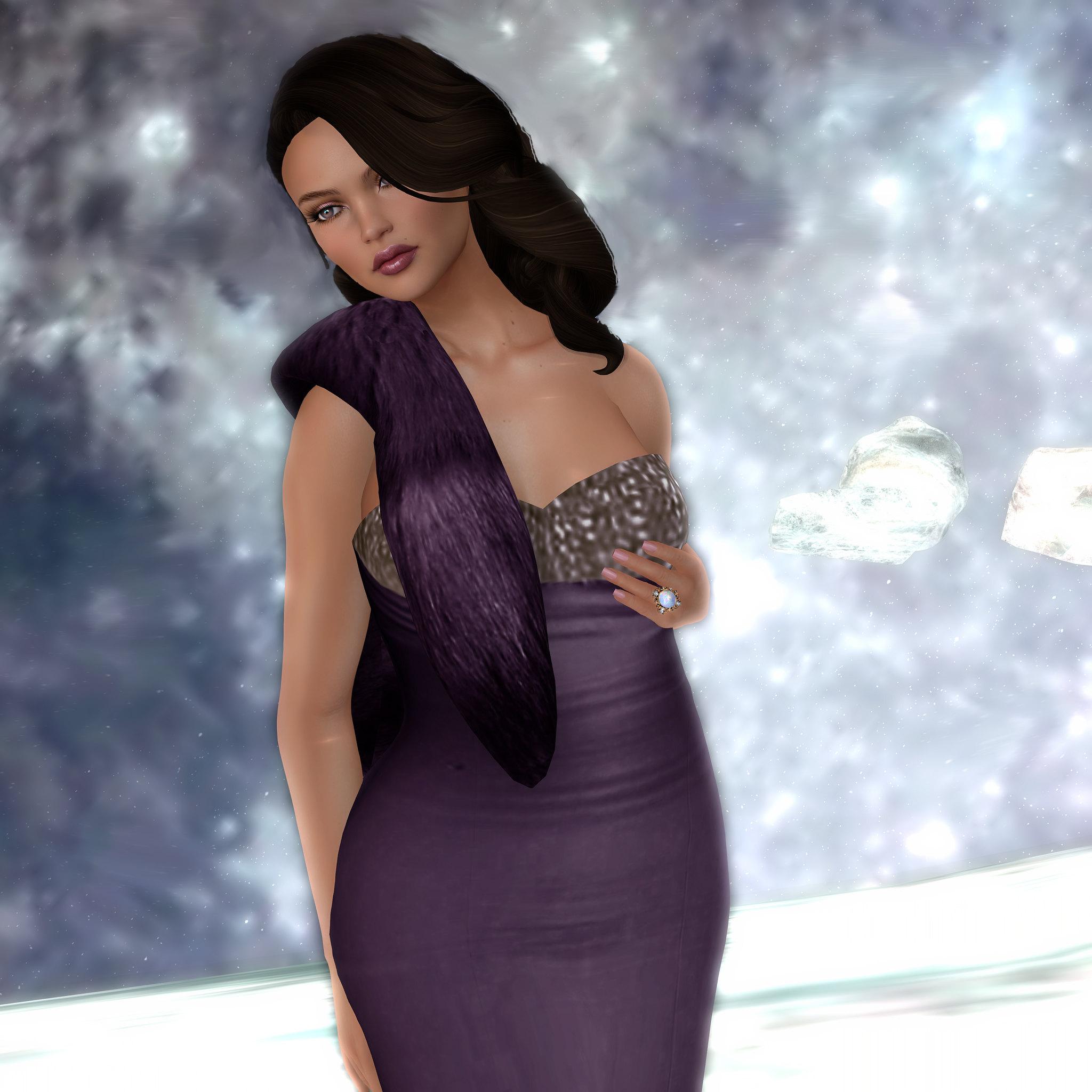 Dream Aubergine Gown , Sascha's Designs