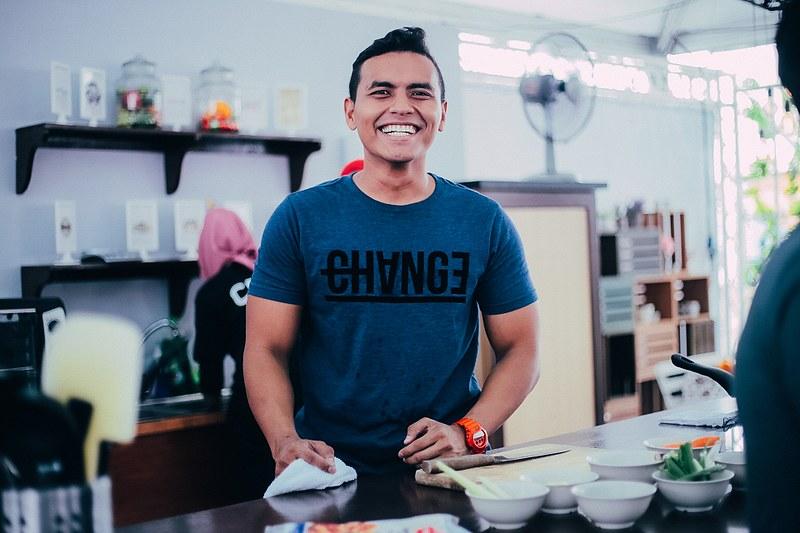 Chef Naem di Booth Inspirasi
