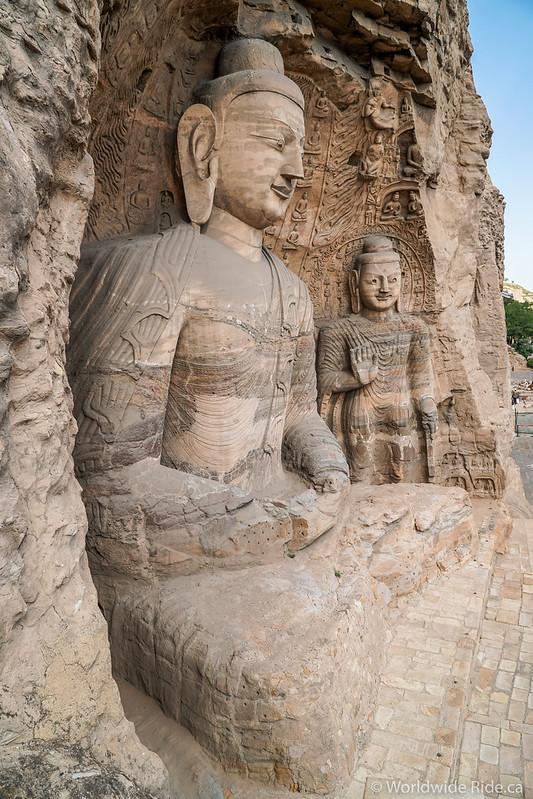 China Datong Grottos-22