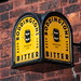 Boddingtons Brewery lantern The Queens Arms Patricroft Greater Manchester UK