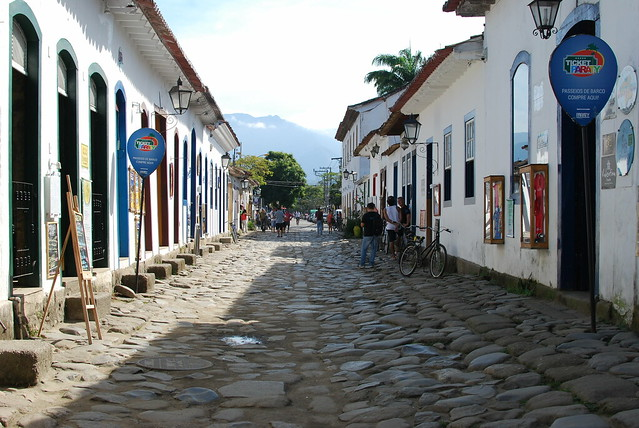 Exploring the streets of Paraty