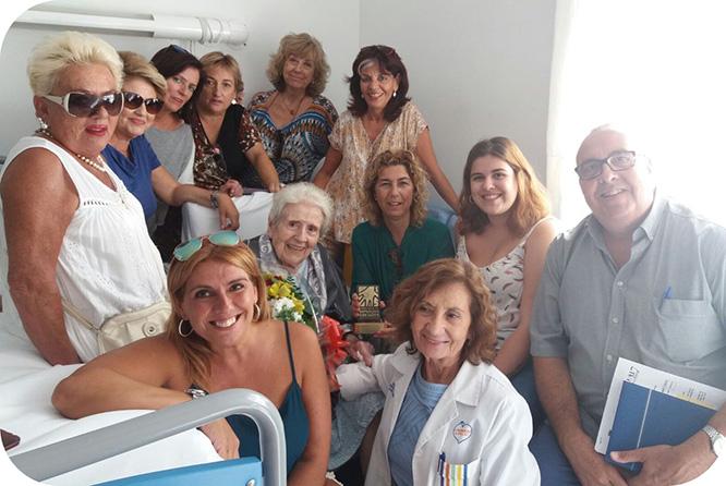 Cartagena felicita a sus centenarios