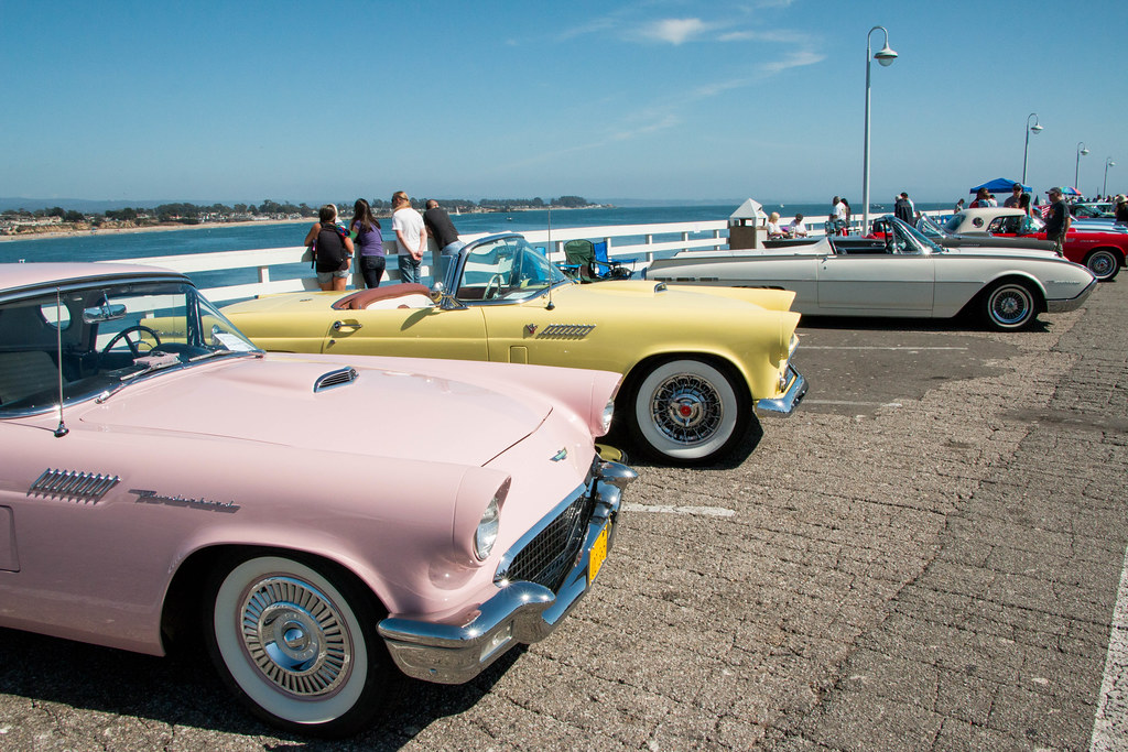 Santa Cruz Wharf TBirds Car Show Miladidit - Santa cruz car show