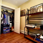 Double closet doors define the dream closet. Don