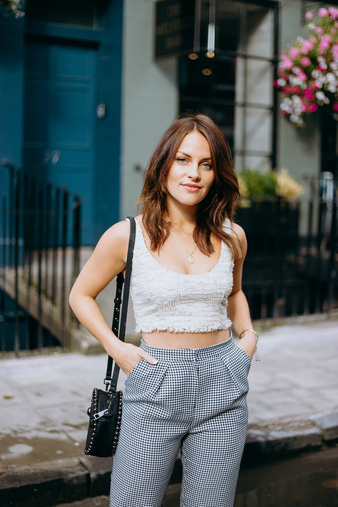 The Little Magpie Revolve Crop Top