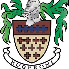 The Rugeroni family crest which goes back to the crusades #relish #salads #rugeronis #bbq www.rugeronis.com