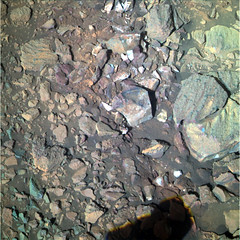 Rocks and Pebbles Near Endeavour Crater 4