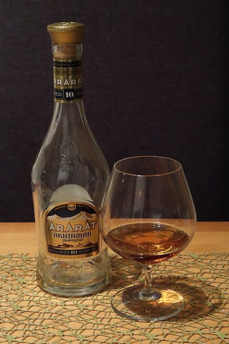 Armenischer Weinbrand (Ararat Akhtamar, 10 Jahre)