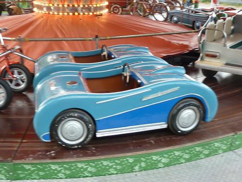 Altes Karussell – Roadster