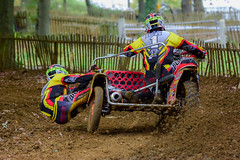 Maxxis British sidecar cross championship and support races