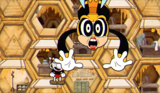 Cuphead - Rumor Honeybottom