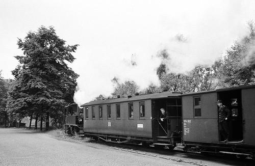 DR 99 582 (ex K.Sächs.Sts.E.B. IV K 171; Hartmann 1912; Reko Raw Görlitz 04.11.1964) Bw Aue (TES Kirchberg)
