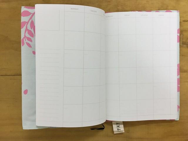 自填式月記事@賴馬X印花樂嬉遊森林萬用筆記本