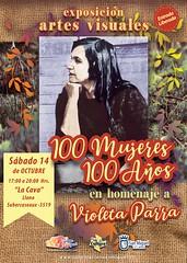 Afiche Expo Violeta