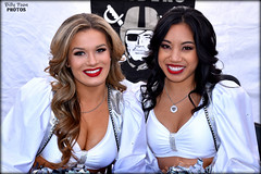 2017 Oakland Raiderettes Morgan & Allison