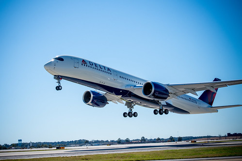 Delta showcases new A350