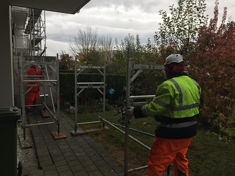 Scaffolding Removal