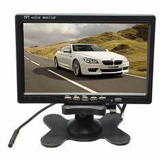 Wireless 7inch LCD Monitor & 18 LED IR Rear View Reversing Camera Night Version Kit (1001474) #Banggood