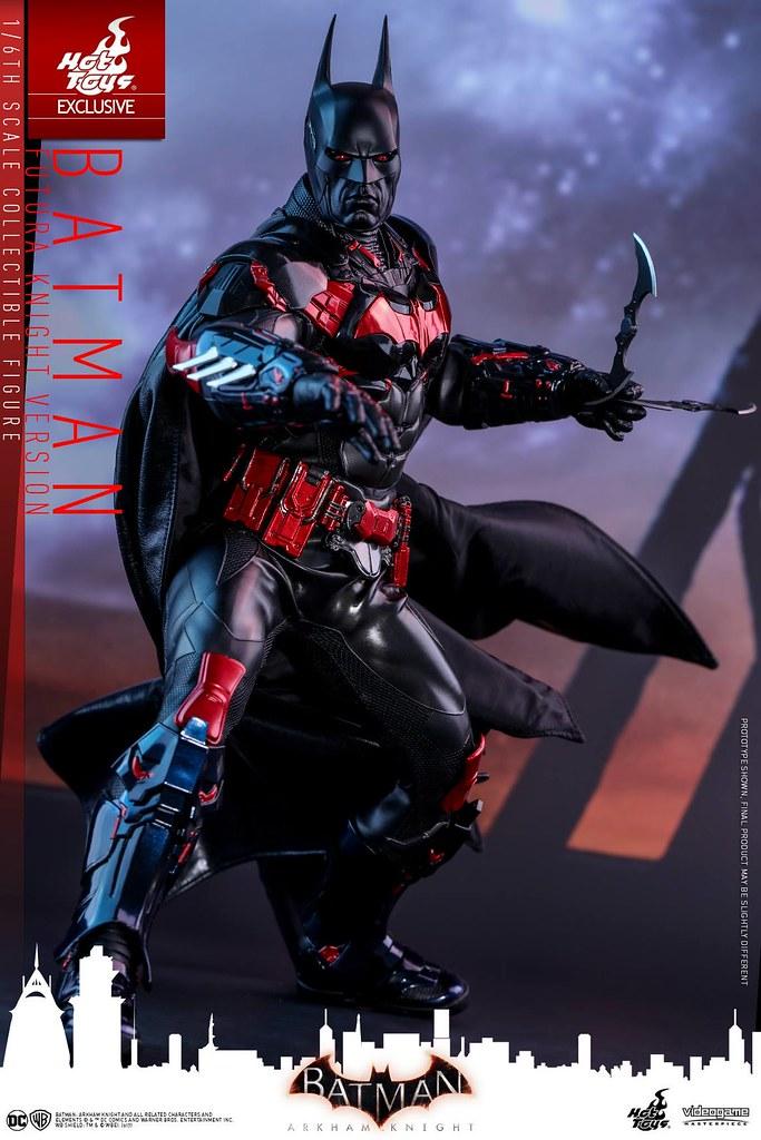 Hot Toys– VGM29 –《蝙蝠俠:阿卡漢騎士》蝙蝠俠(Futura Knight Version)1/6 比例可動人偶作品